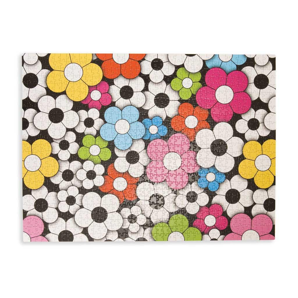 Puzzle HAPPY FLOWERS 1000