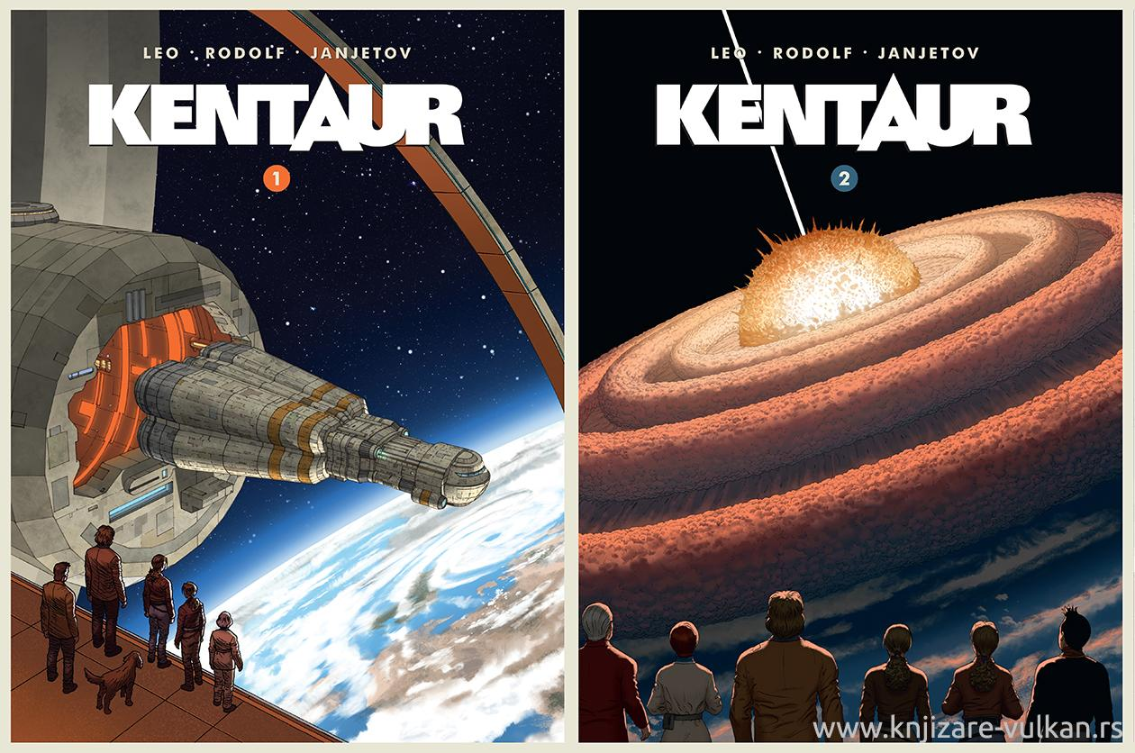 KENTAUR 1-2 (Komplet)