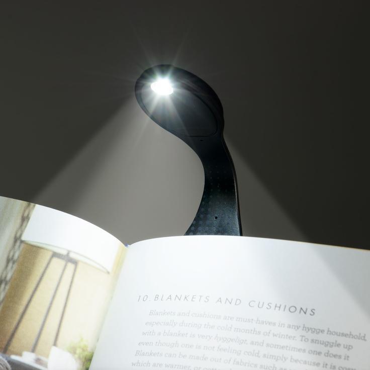 Lampica za knjige BLACK