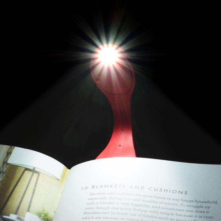 Lampica za knjige RED