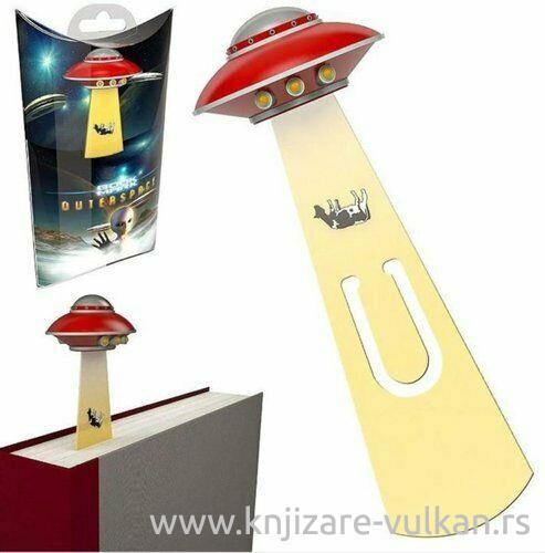 Bookmarker UFO RED
