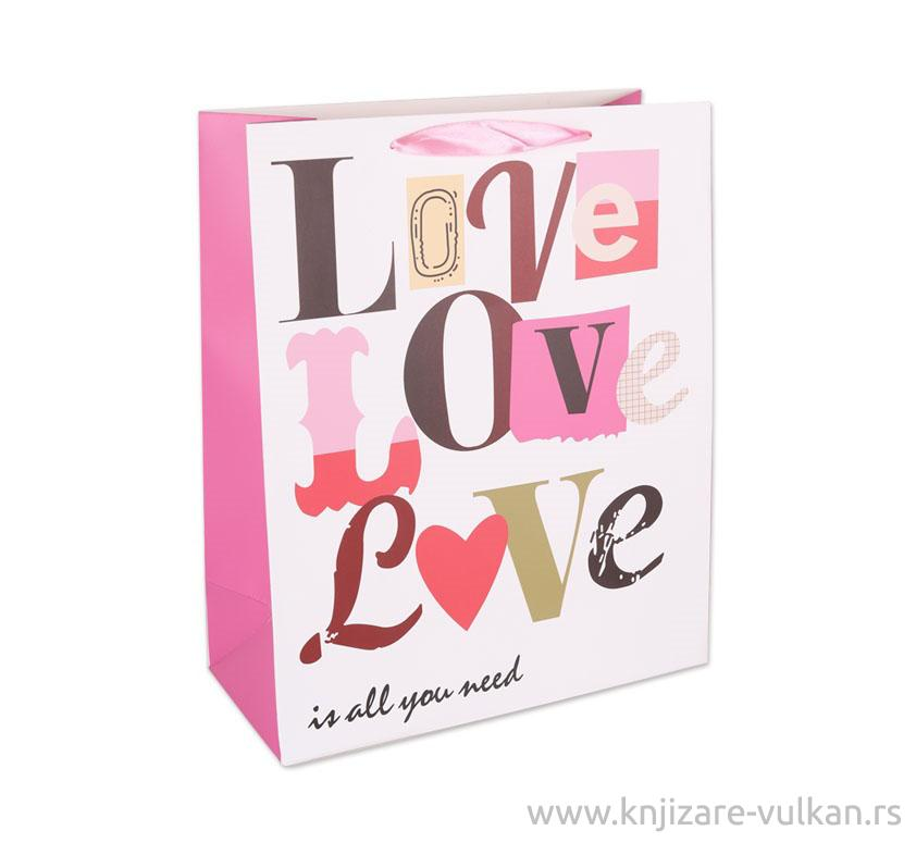 Ukrasna kesa LOVE LOVE L