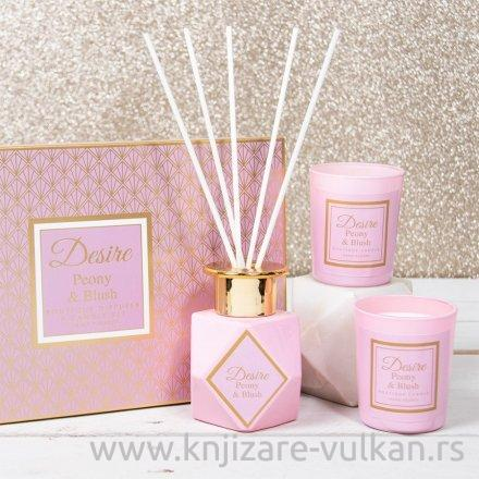 Poklon set Desire Fragrance - pink