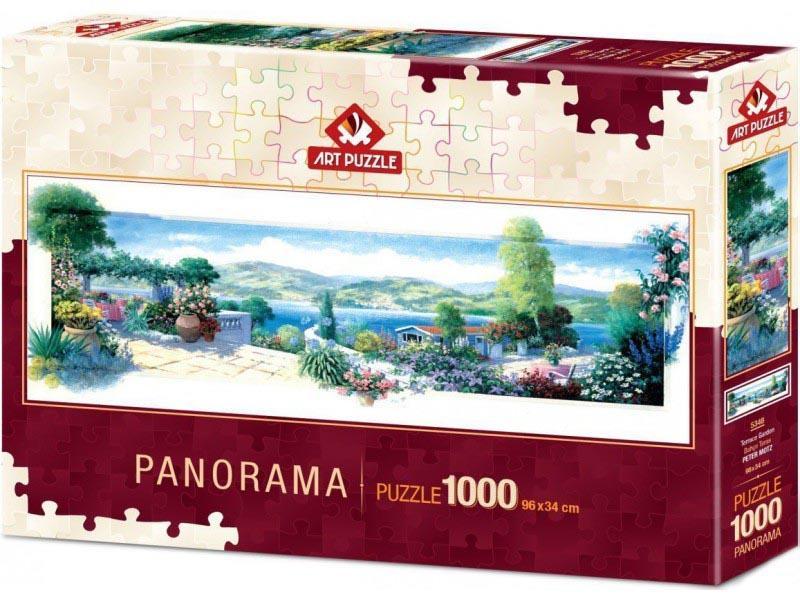 Puzzle PANORAMA TERRACE GARDEN 1000 kom
