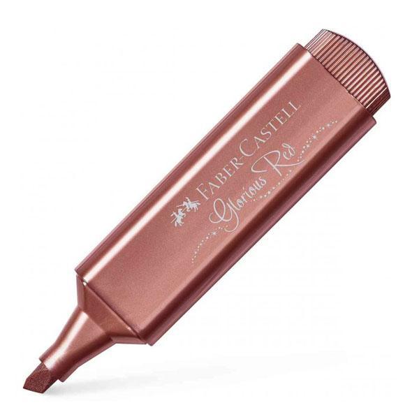 Tekst marker METALIC RED 154673