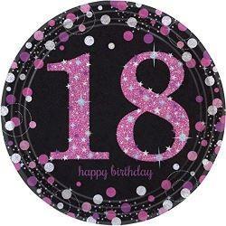 SPARKL rodjendanski tanjirići PINK 18