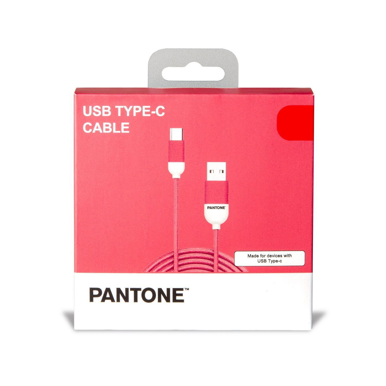 PANTONE USB.C kabl PINK