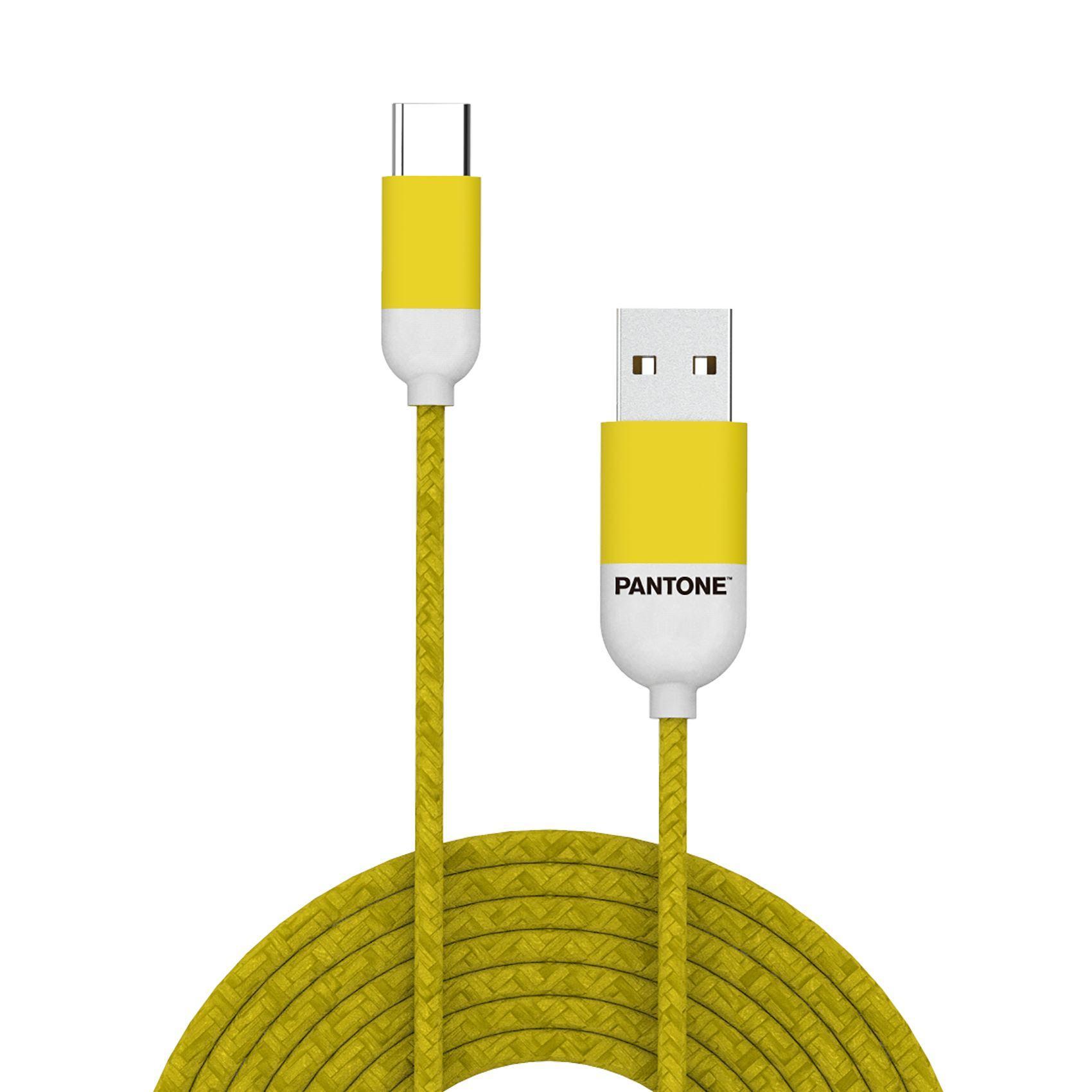 PANTONE USB.C kabl ŽUTI