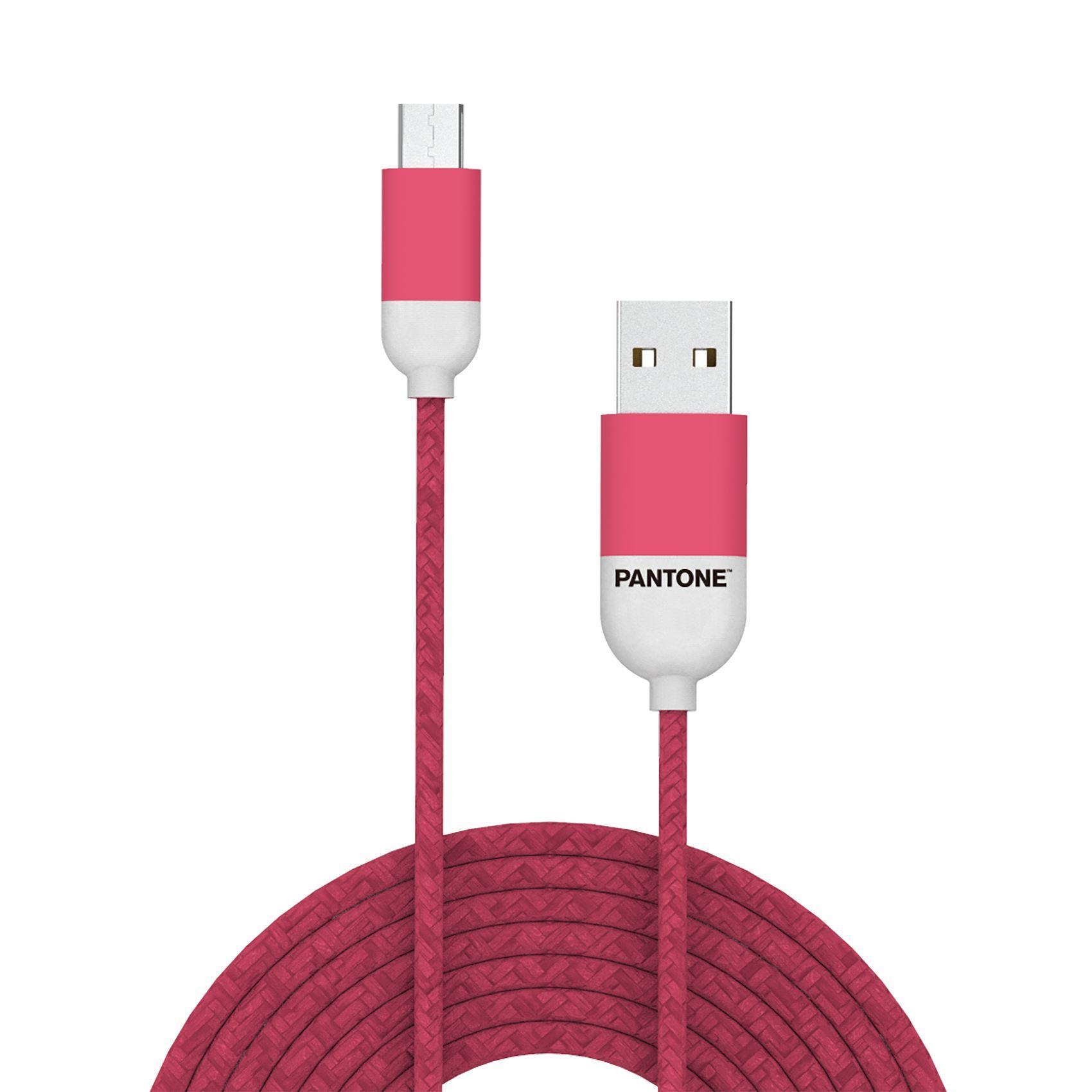 PANTONE mikro USB kabl PINK