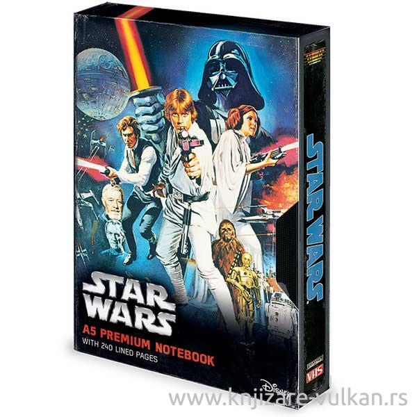 STAR WARS notes A5 A NEW HOPE VHS