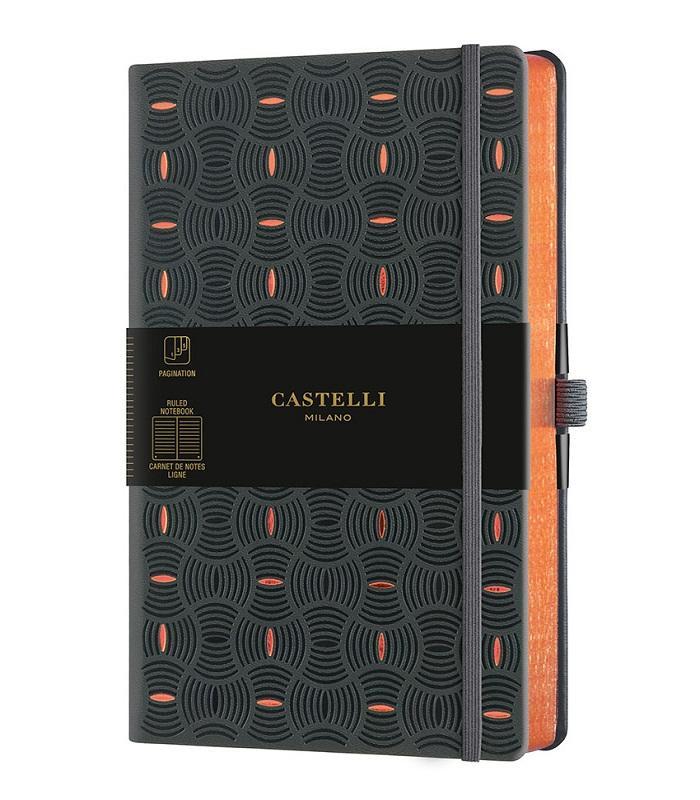 CASTELLI  notes RICE GRAIN COPPER
