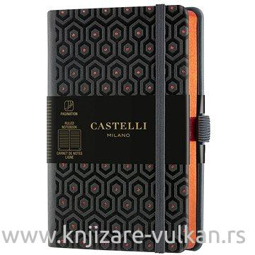 CASTELLI  notes HONEYCOMB COPPER