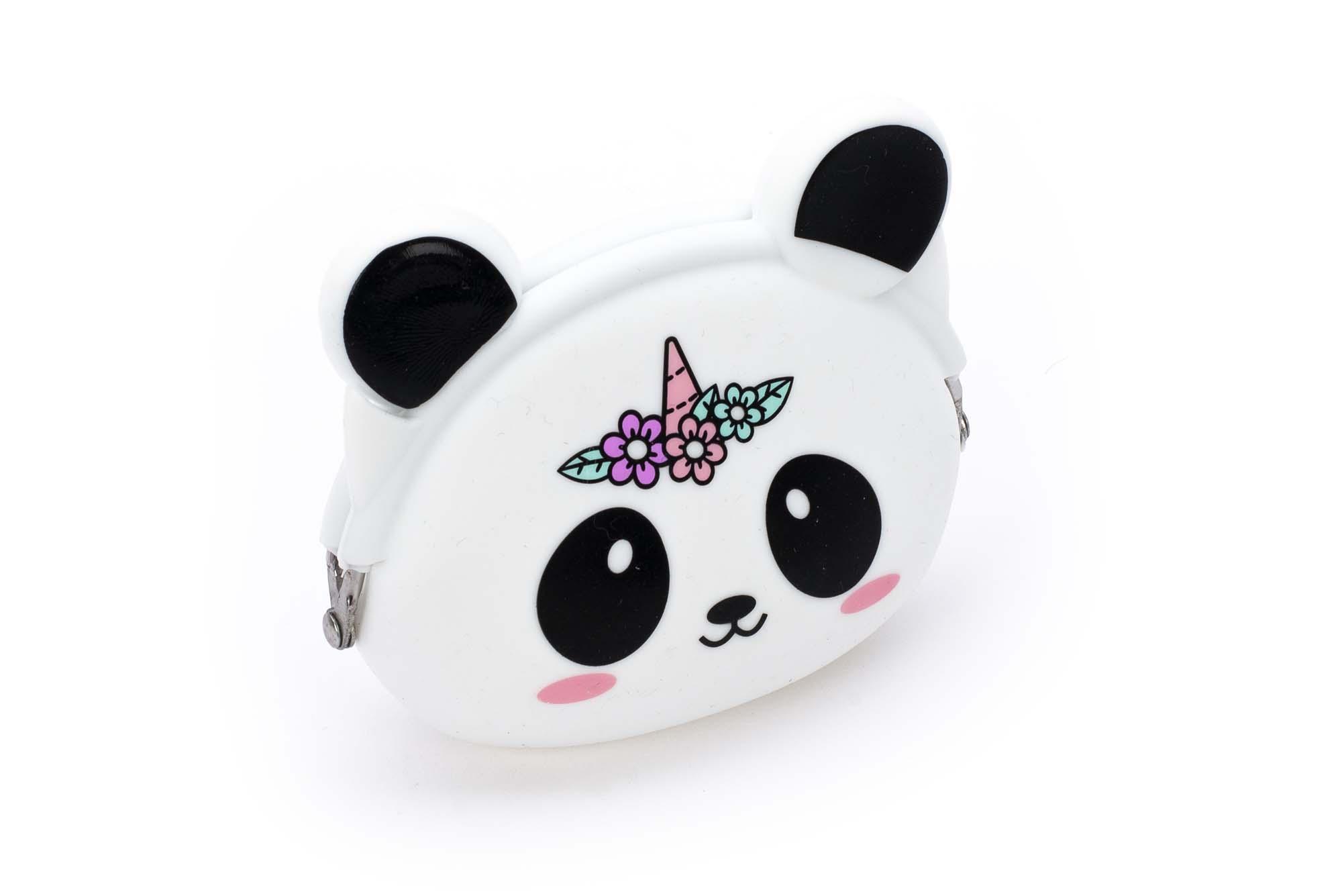 Silkonski novčanik PANDA