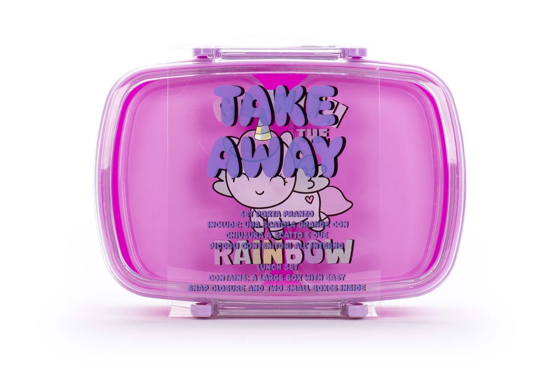Kutija za užinu GO WITH RAINBOW