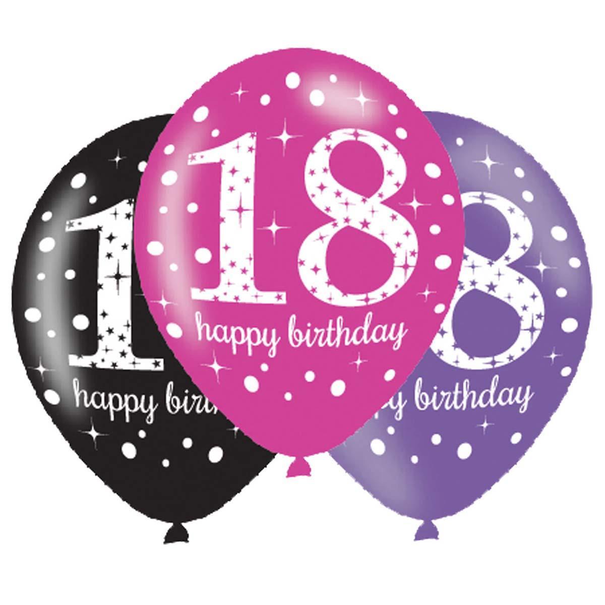 BALONI HAPPY BIRTHDAY 18