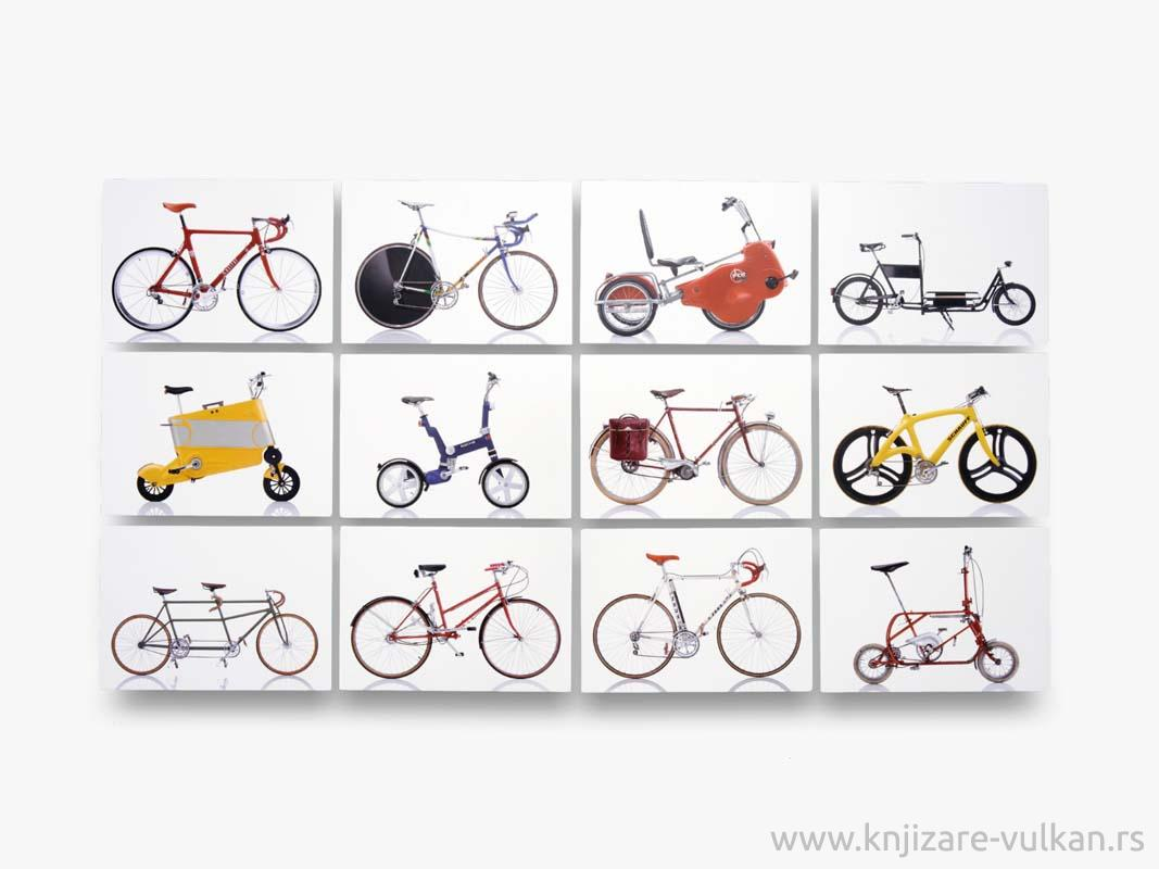 CYCLEPEDIA 100 POSTCARDS OF ICONIC BICYCLES