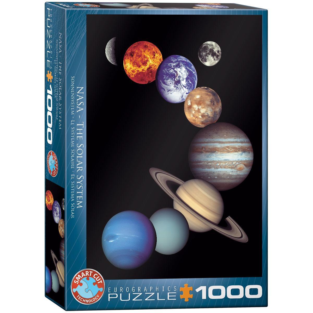 Puzzle NASA SOLARNI SISTEM 1000 kom