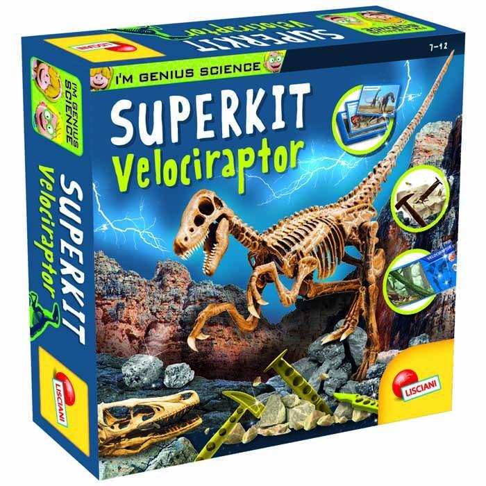 MALI GENIJE SUPER KIT Velociraptor