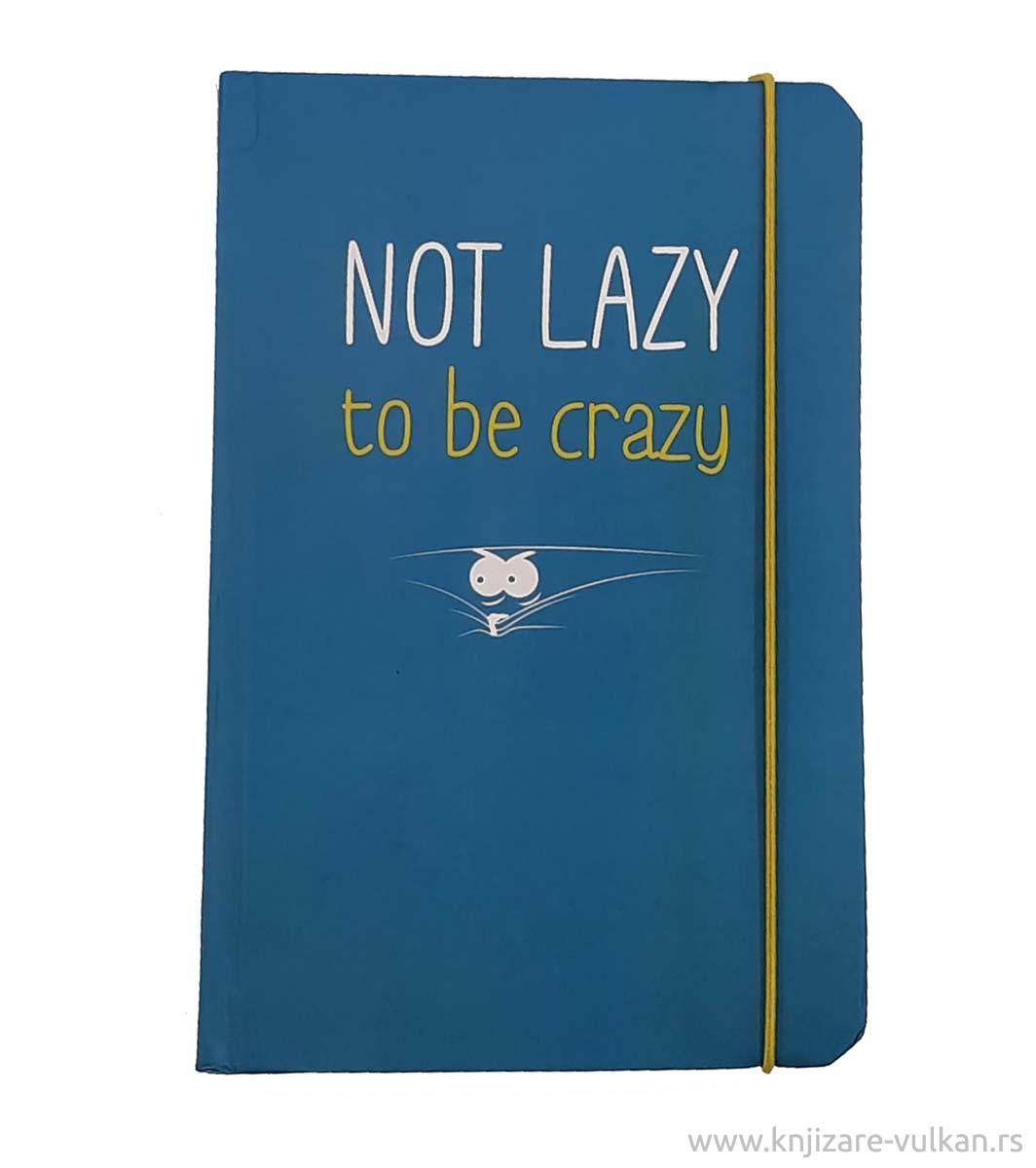 Notes NOT LAZY TO BE CRAZY