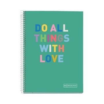 Sveska A5 - DO ALL THINGS WITH LOVE