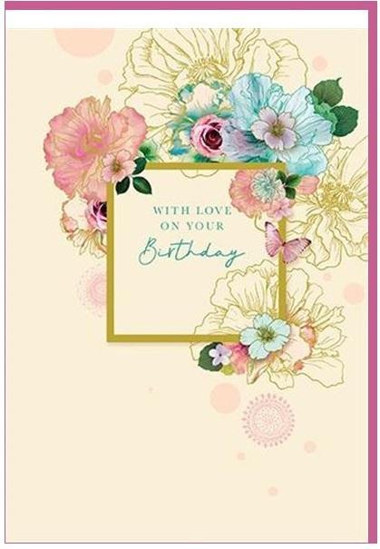 Čestitka  FLOWER BIRTHDAY