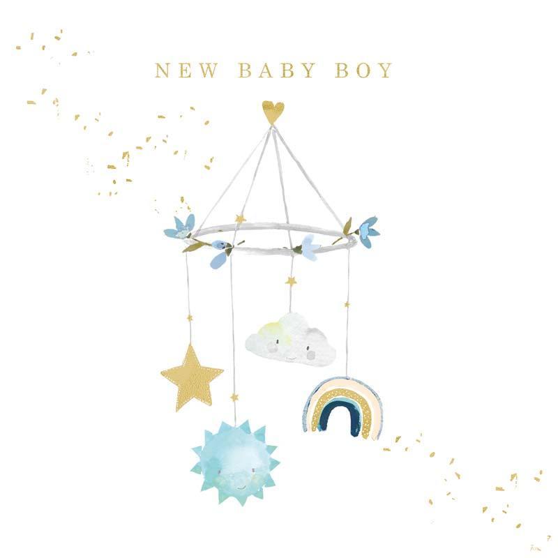 Čestitka  BABY BOY