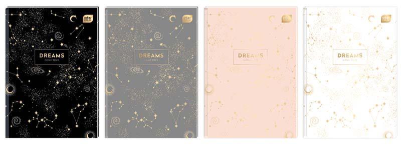 Sveska A4  na kvadratiće - DREAMS