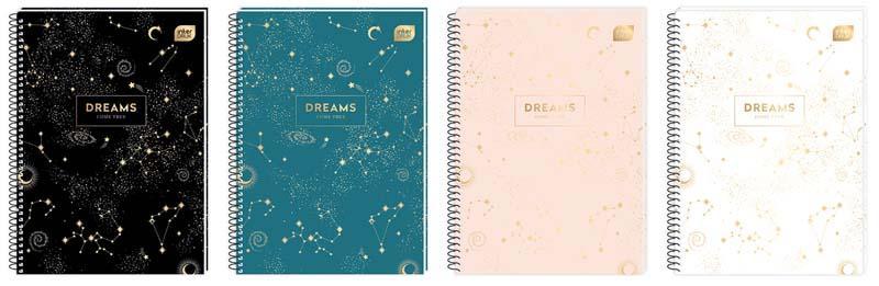 Sveska A5 na kvadratiće - DREAMS