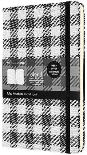 Notes A5 BLEND MOLESKINE Check pattern