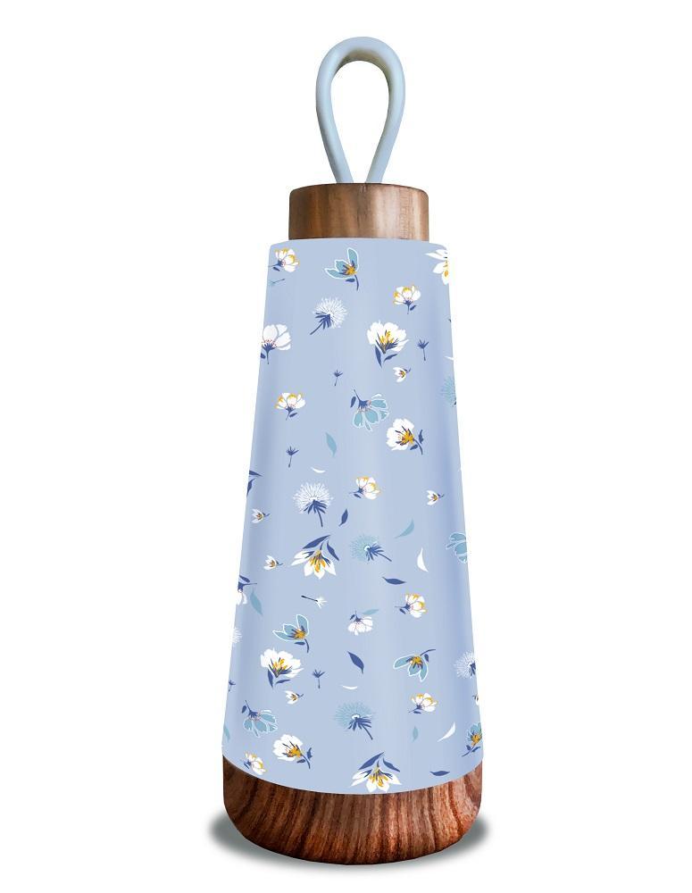 BIOLOCO termo flaša BLUE FLOWERS