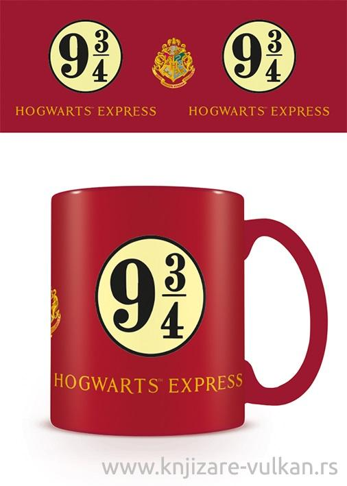 Šolja HARRY POTTER Platform 9 3-4 Hogwarts Express