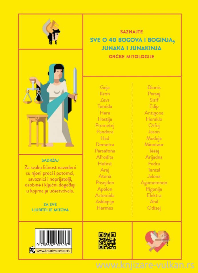 BOGOVI 40 grčkih bogova i junaka