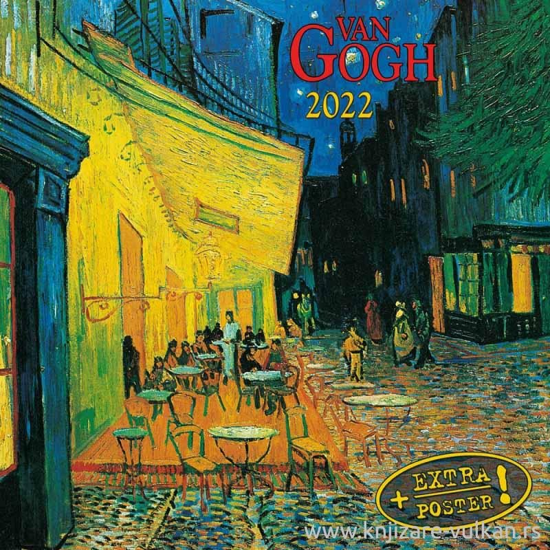 Zidni kalendar VINCENT VAN GOGH 2022